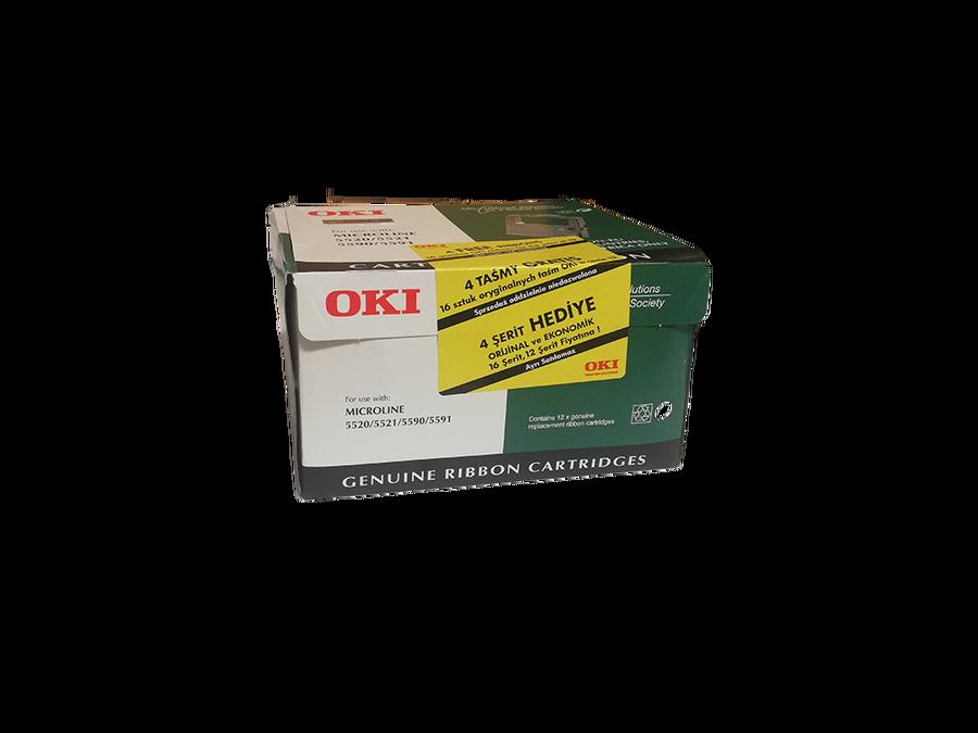 OKI 01277801 ŞERİT - 16'lı KAMPANYALI PAKET ML5520-ML5521-ML5590-ML5591 - 4 MİLYON KARAKTER