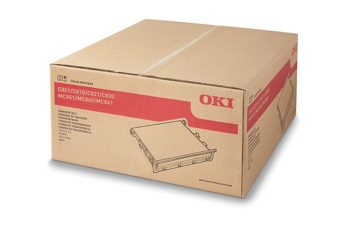 OKI - OKI 43449705 TRANSFER BELT ÜNİTESİ C801-C821-C810-C830-C8600-C8800-MC851-MC861-MC860 TAŞIYICI KAYIŞ ÜNİTESİ - 80,000 SAYFA
