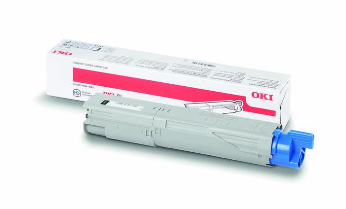 OKI - OKI 43459348 SİYAH TONER C3300-C3400-C3450-C3600 - 2,500 SAYFA