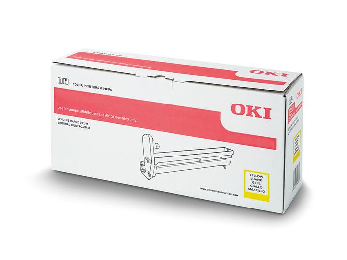 OKI - OKI 44035517 SARI DRUM C910-C920WT - YELLOW DRUM - YAZICI GÖRÜNTÜLEME ÜNİTESİ - 20,000 SAYFA