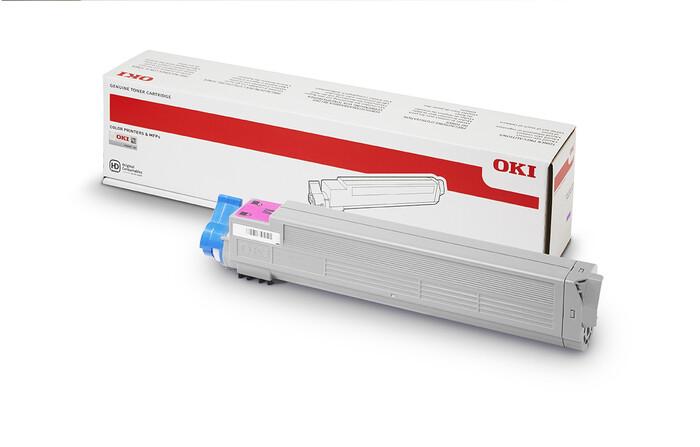 OKI - OKI 44036022 KIRMIZI TONER C910-C910 Dicom - C920WT - MAGENTA TONER - 15,000 SAYFA