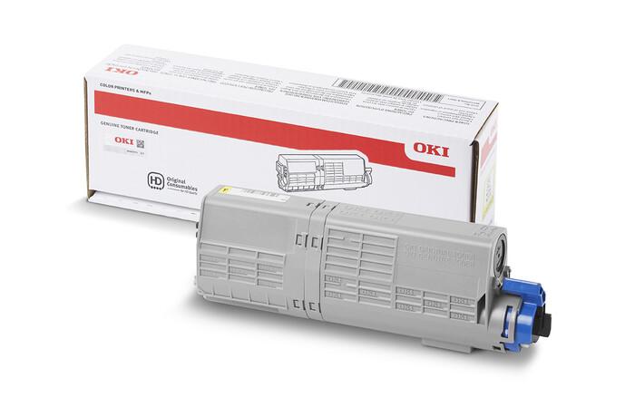 OKI - OKI 44315321 SARI TONER C610 - 6,000 SAYFA