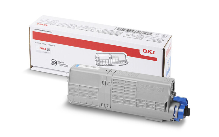 OKI - OKI 44315323 MAVİ TONER C610 - 6,000 SAYFA