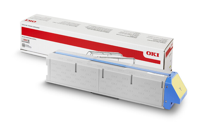 OKI - OKI 45536553 SARI TONER Pro9431-Pro9541-YELLOW TONER - 40,000 SAYFA