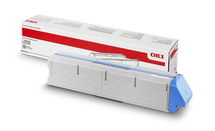 OKI - OKI 45536555 MAVİ TONER Pro9431-Pro9541-Pro9542 - CYAN TONER - 40,000 SAYFA