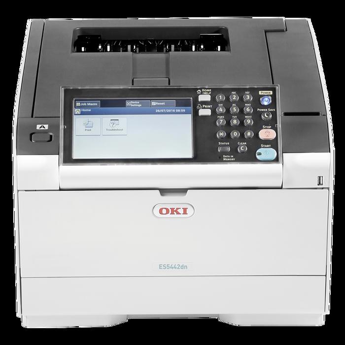 OKI - OKI 46356122 ES5442DN YAZICI - NETWORK - DUBLEX - RENKLİ - SİYAH BEYAZ - 30 SAYFA BASKI HIZI