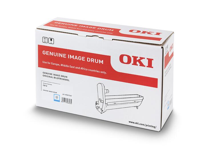 OKI - OKI 46507307 MAVİ DRUM C612 - YAZICI GÖRÜNTÜLEME SİLİNDİRİ - 30,000 SAYFA