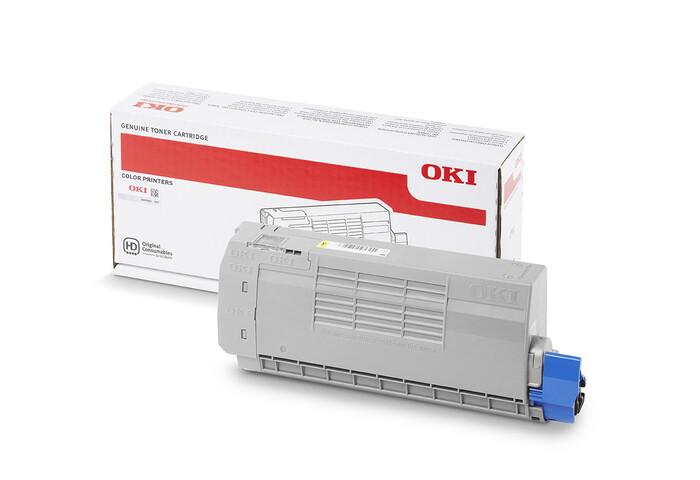 OKI - OKI 46507625 C712 SARI TONER C712 - 11,500 SAYFA