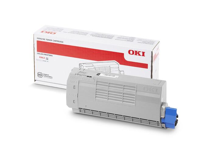 OKI - OKI 46507628 C712 SİYAH TONER C712 - 11,000 SAYFA