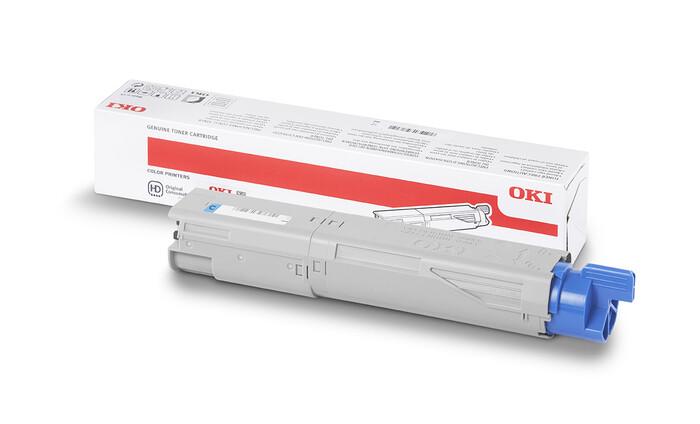 OKI - OKI 46508739-46508715 MAVİ TONER C332-MC363 - 1,500 SAYFA