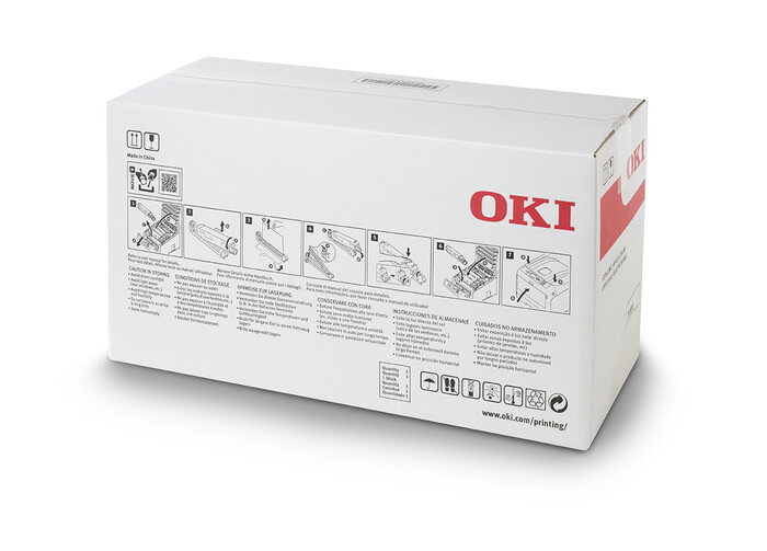 OKI 46857507 MAVİ DRUM – C824-C834-C844 - CYAN DRUM - YAZICI GÖRÜNTÜLEME ÜNİTESİ - 30,000 SAYFA - Thumbnail