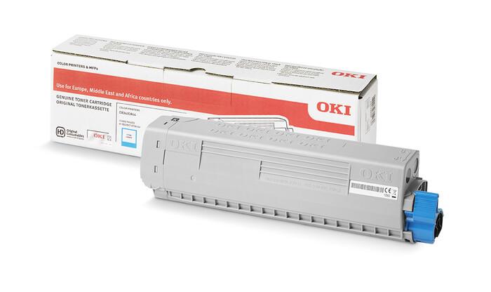 OKI - OKI 46861321 MAVİ - CYAN TONER C834-C844 -10.000 SAYFA